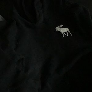 Abercrombie and Fitch black kids hoodie